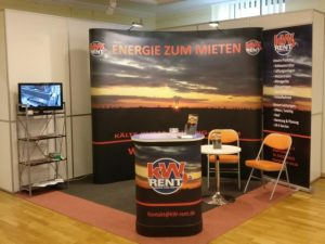 Messestand Leuna